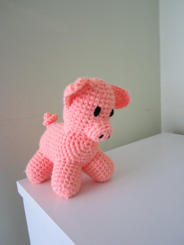 Crochet Little Piggy