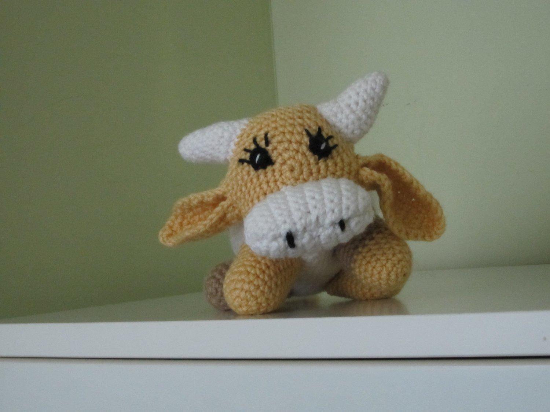 Crochet  cow.