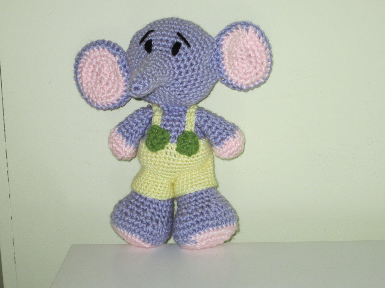 Crochet Bimbo The Elephant