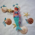 Crochet toy mermaid