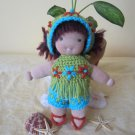 Crochet set for 8 inches  Waldorf and similar sizes dolls