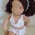 Crochet bathing suit for 16 inches  Waldorf doll