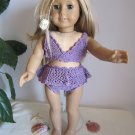 Crochet bathing suit  American girl dolls