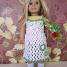 Crochet American Girl Doll Dress and Booties