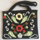 Irish crochet bag