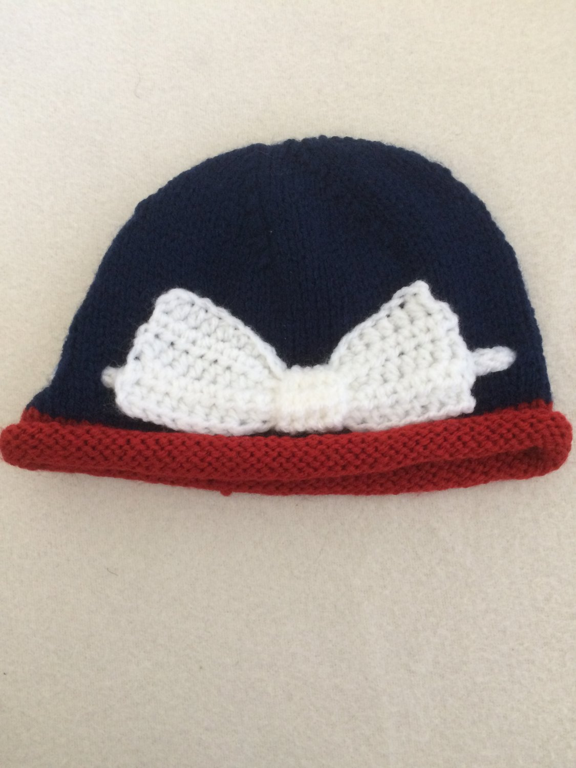 """Crochet hat for 16""""-18"""" Waldorf doll and American girl doll"""