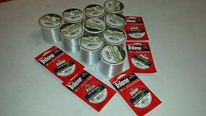 15 Spools Eagle Claw Lake & Stream Clear Monofilament & Berkley fishing line