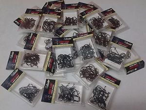 Eagle Claw Lazer Sharp Saltwater Long Shank Hooks Seagrd Blk Lot Of 750 pieces
