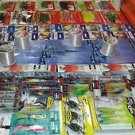 100 + Large lot of NICE ASSORTMENT FISHING TACKEL