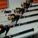 lot 4 pisces South Bend Competitor Spin & REELS 8000 FOR BIG GAME COMBOS
