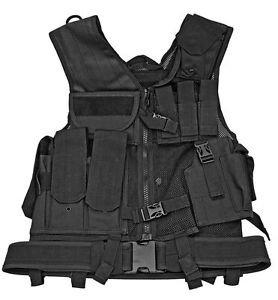 Mesh Tactical Vest - Black