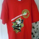 Boys Top T Shirt Pacific Sports NWT Red M Skateboarding Everyday Short Sleeve
