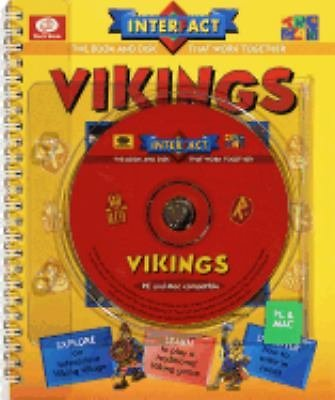 Vikings by Claire Watts and Robert Nicholson 1997 CD-ROM Paperback