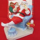 1988 Aldon Accessories Limited Edition Fine Grain Porcelain Santa Figurine