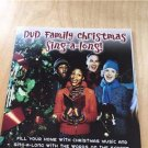 DVD Family Christmas Sing-a-Long DVD Music Words Lyrics Live Fireplace