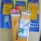 Pencils 60 New with Erasers 5 Packs Staples Color Art Penway Up & Up No. 2