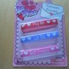 Valentine Day Set of 3 Bracelets Kids New Love Hugs Best Friends Jewelry Girls