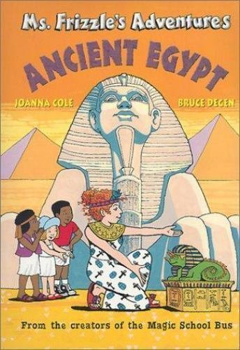 Ms. Frizzle's Adventures Ancient Egypt Magic School Bus Hardcover Homeschool