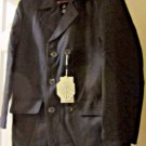 Pea Coat Men's Matchstick Wool Classic Double-Breasted Outerwear New with Tags