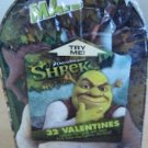Shrek Valentines Day Cards 32 Cards w/ Seals in Keepsake Light Up Mailbox New