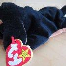 1996 Ty Plush Beanie Babies Doby Dog New Stuffed Animal Blak