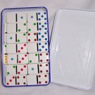 CARDINAL Double Six Color Dot Mexican Train Dominoes