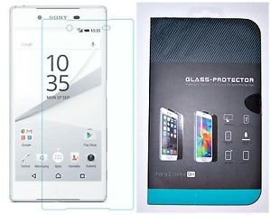 For SONY XPERIA Z5 Tempered Glass Screen Protector Transparent