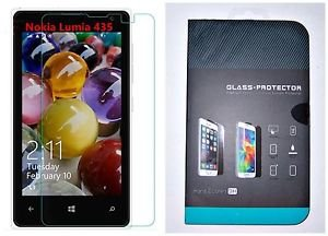 NOKIA LUMIA 435 TEMPERED GLASS SCREEN PROTECTOR CLEAR  AT&T-T-MOBILE