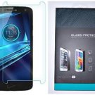 For Motorola Droid Turbo 2 Transparent Tempered Glass Film Screen Protector