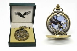 Bald Eagle Pocket Watch