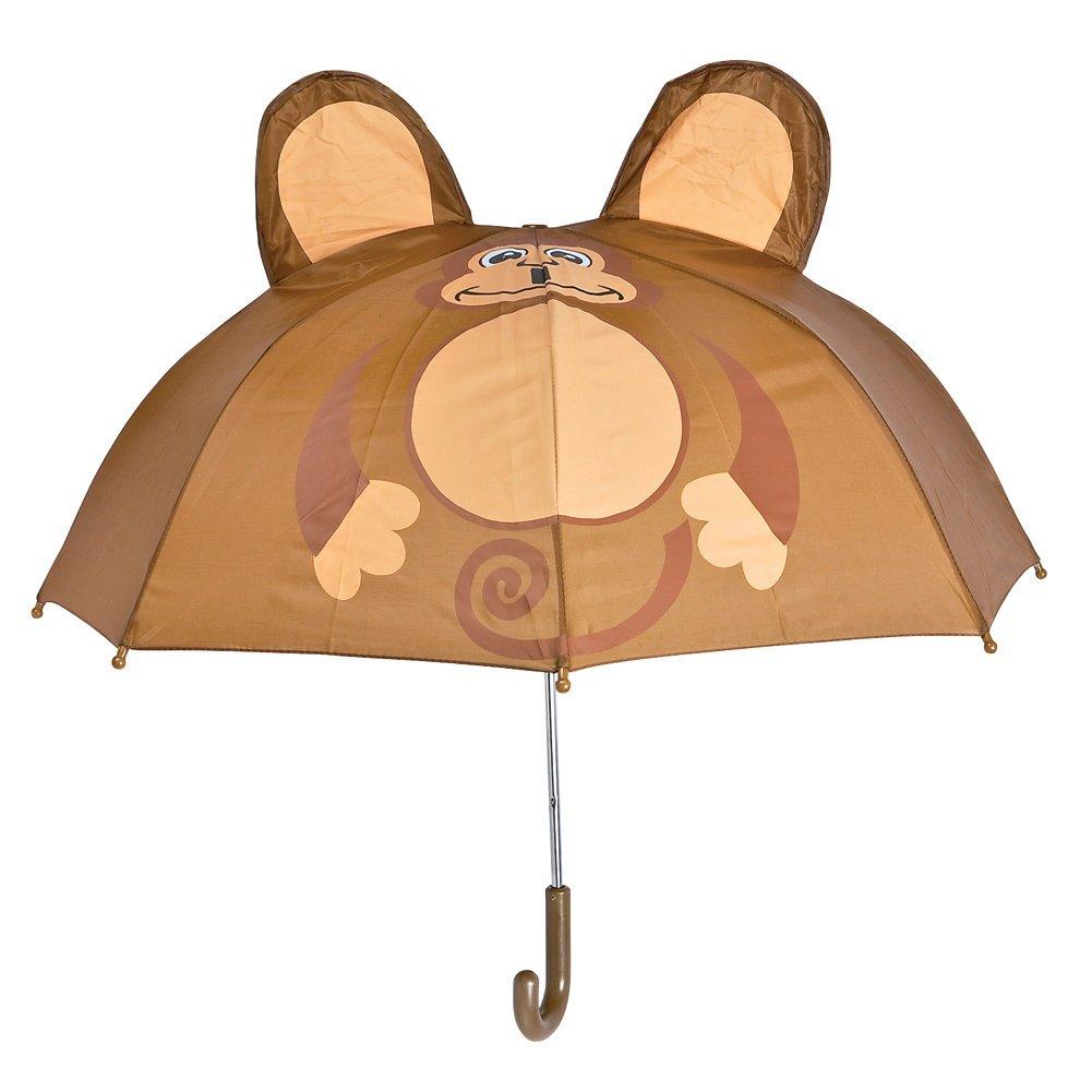 monkey child umbrella cute colorful kids rain gear 28 inch in dia