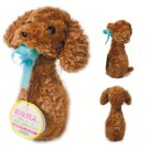 Brown Poodle Puppy Dress Up Animal Spray Bottle Covers - Make Cleaning Cuter