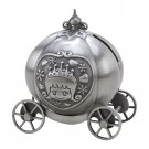 Pumpkin Fairytale Coach Bank Pewter Finish