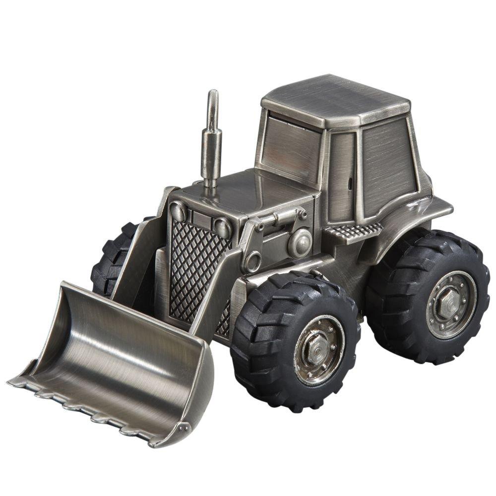 Tractor Front Loader Backkoe Coin Piggy Bank