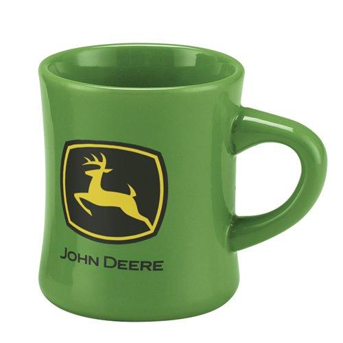 John Deere Stoneware Green Ceramic Tea Coffee Dinner Mug