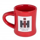 Red Stoneware 8oz Diner MUG with IH Logo