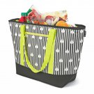 12 Gallon Insulated Mega Tote Black Bag - The Way to Transport Frozen Food, Perishables and Hot Food