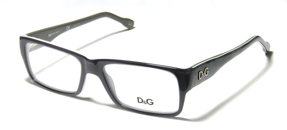 Dolce & Gabbana Black Optical Eyeglasses Frame D&G1210 1867 51mm New w/ Case