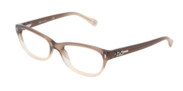 Dolce & Gabbana Brown Transparent Optical Eyeglasses Frame DD1205 1675 50mm