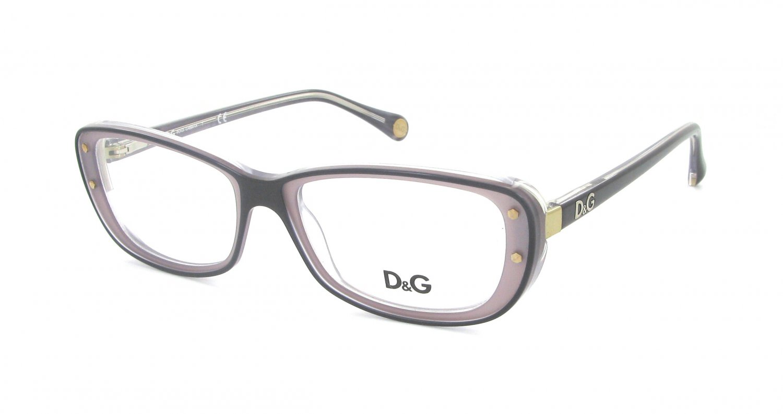 Dolce & Gabbana Black Gray Optical Eyeglasses Frame DD1226 1983 52mm New w/ Case