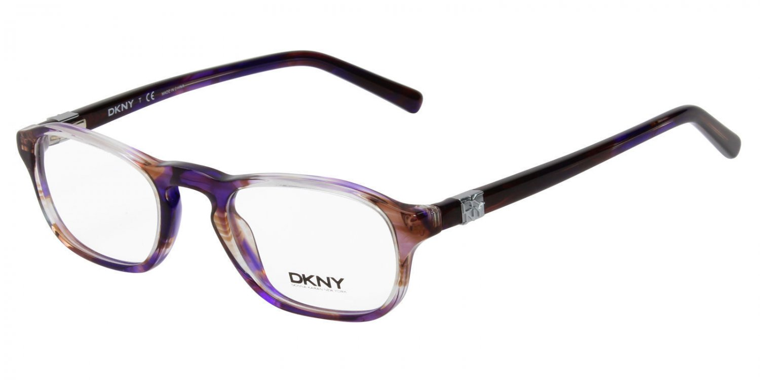 Donna Karan DKNY Women Purple Optical Eyeglasses Frame DY4632 3593 48mm