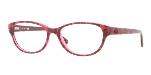 Donna Karan DKNY Pink Black Leopard Optical Eyeglasses Frame DY4642 3617 51mm