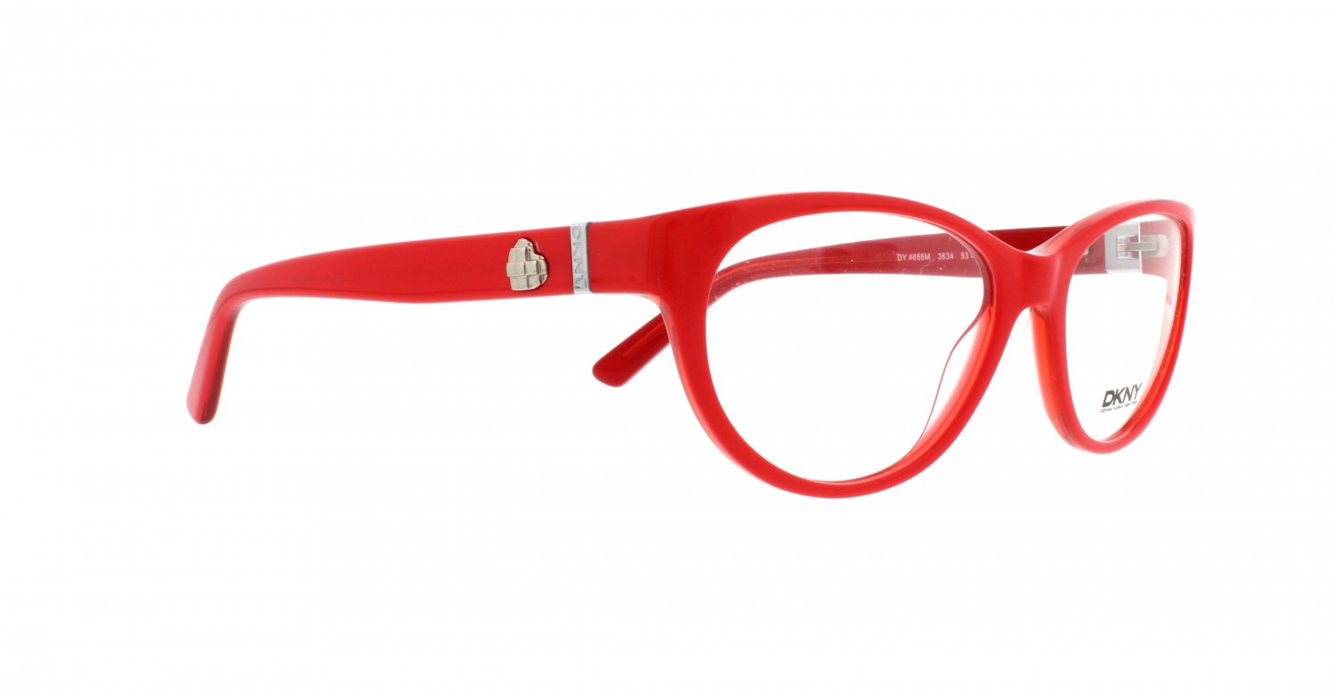 Donna Karan DKNY Women Red Optical Eyeglasses Frame DY4655m 3634 51mm