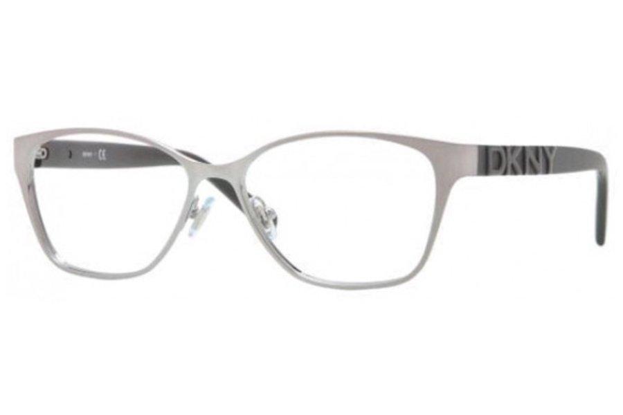 Donna Karan DKNY Silver Optical Eyeglasses Frame DY5636 1204 51mm New w/ Case