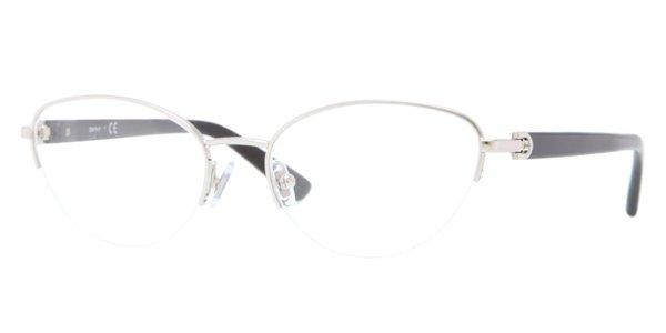 Donna Karan DKNY Silver Half Rim Optical Eyeglasses Frame DY5644 1002 51mm