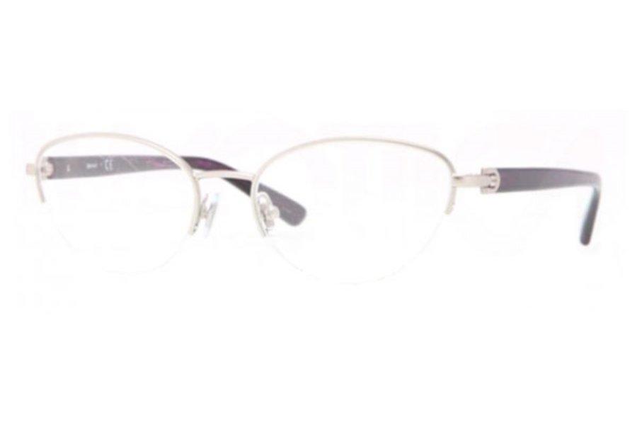Donna Karan DKNY Women Silver Optical Eyeglasses Frame DY5644 1029 53mm