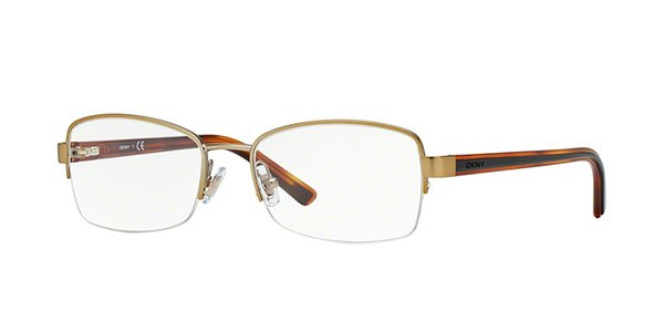 Donna Karan DKNY Women Gold Optical Eyeglasses Frame DY5645 1219 51mm