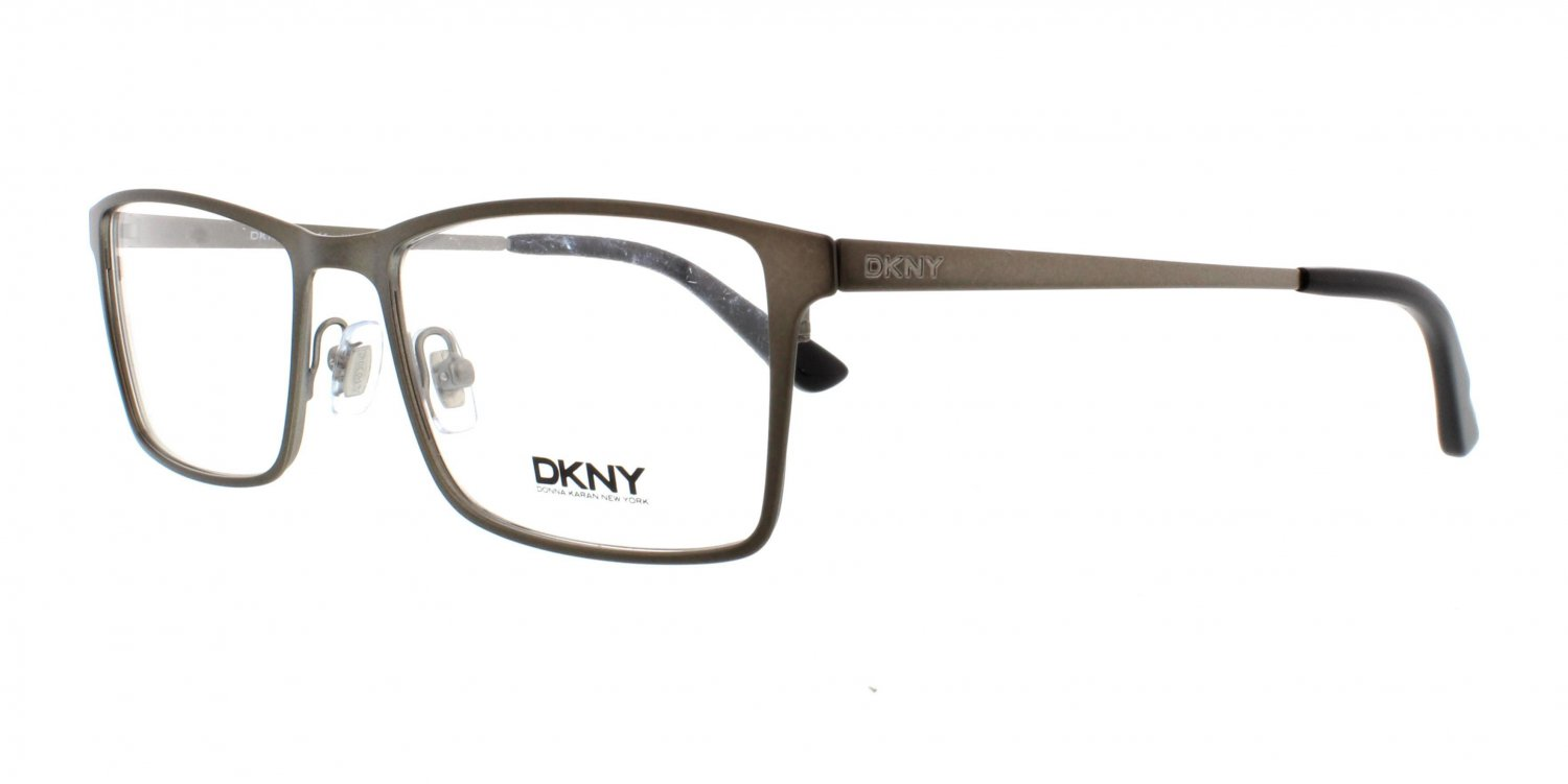 Donna Karan DKNY Gunmetal Optical Eyeglasses Frame DY5649 1014 54mm New w/ Case