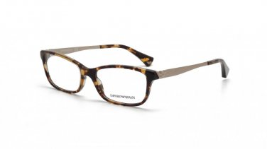 Emporio Armani Brown Havana Optical Eyeglasses Frame EA3031 5228 55mm