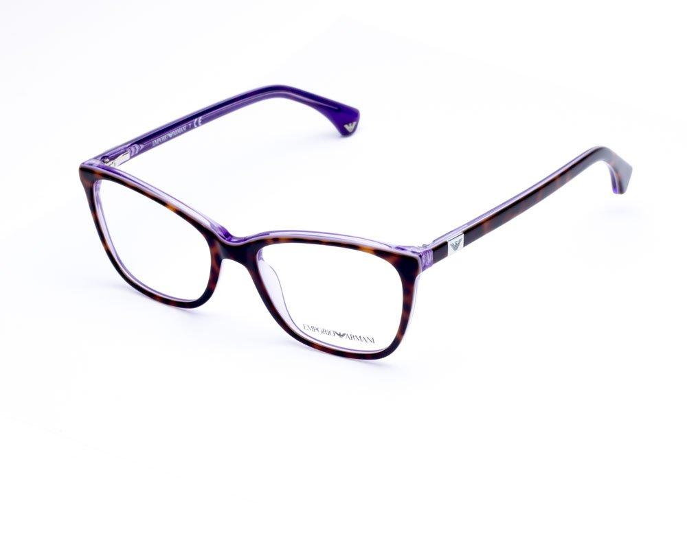 Emporio Armani Brown Havana Optical Eyeglasses Frame EA3053 5353 52mm